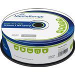 DVD MediaRange DVD-R 4.7GB 16x Spindle 25-Pack