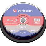 Blu-ray Verbatim BD-RE No ID Brand 25GB 6x Spindle 25-Pack Wide Printable