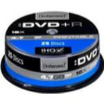 DVD Intenso DVD+R 4.7GB 16x Spindle 25-Pack Inkjet