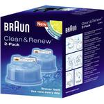 Shaver Cleaner price comparison Braun Clean &Renew CCR2 2-pack