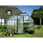 Freestanding Greenhouses - Rectangular Halls Popular 106 6.2m² Aluminum Polycarbonate