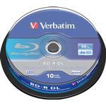 Blu-ray Verbatim BD-R 50GB 6x Spindle 10-Pack
