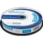 Blu-ray MediaRange BD-R 25GB 4x Spindle 10-Pack