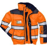 Buttons - Warning Jacket Portwest C466 Hi-Vis Classic Bomber Jacket