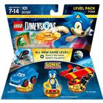 Gaming Accessories Lego Dimensions Sonic the Hedgehog Level Pack 71244