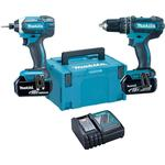 Drills & Screwdrivers Makita DLX2145TJ (2x5.0Ah)