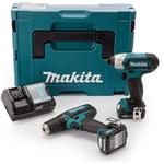 Makita. drill set Drills and Screwdrivers Makita CLX201AJ