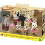 Dollhouse Accessories - Wood Sylvanian Families School Music Set