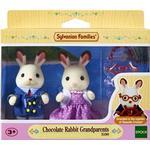 Animals - Soft Toys Sylvanian Families Chocolate Rabbit Grandparents
