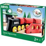 Train Track Set - Wood Brio Classic Figure 8 Set 33028