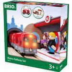 Toy Vehicles price comparison Brio Metro Railway Set 33513