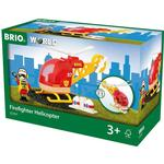 Toy Helicopter Brio Firefighter Helicopter 33797