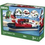 Toy Train Toy Train price comparison Brio Harbour Cargo Set 33061