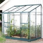 Lean-to Greenhouses - Rectangular Vitavia IDA Vægdrivhus 3.3m² Aluminum Glass