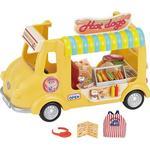 Dollhouse Accessories - Plasti Sylvanian Families Hot Dog Van