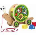 Animals - Pull Toys Hape Walk a Long Snail