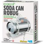Science Experiment Kits 4M Soda Can Robug