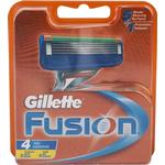 Razor Blades & Cartridges Gillette Fusion 4-pack