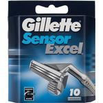 Razor Blades & Cartridges Gillette Sensor Excel 10-pack