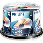 CD Philips CD-R 700MB 52x Spindle 50-Pack