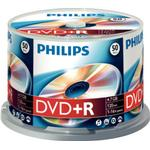 DVD Philips DVD+R 4.7GB 16x Spindle 50-Pack
