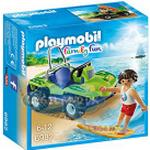 Cheap Play Set Playmobil Surfer with Beach Quad 6982