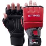 MMA Martial Arts Sting Gel Hybrid Training Gloves XL