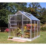 Freestanding Greenhouses - Square Halls Popular 66 3.8m² Aluminum Polycarbonate