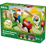 Toy Train - Plasti Brio My First Railway Beginner Pack 33727
