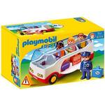 Toy Car price comparison Playmobil 1.2.3 Airport Shuttle Bus 6773
