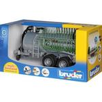 Toy Vehicle Accessories - Plasti Bruder Fliegl Barrel Trailer with Spread Tubes 02020