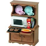 Cheap Doll-house Furniture Sylvanian Families Cupboard with Oven