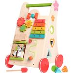 Baby Walker Wagons - Wood EverEarth Running Gear Toys