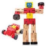 Cheap Wooden Blocks Hawkin Wooden Transformbot