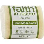 Bar Soap Faith in Nature Tea Tree Soap 100g