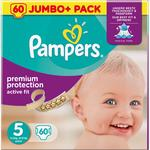 Pampers Premium Protection Active Fit Size 5 Junior