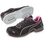 Microfiber - Safety Shoes Puma 5-64411 Fuse TC Pink Low S1P SRC