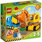 Lego Duplo Lego Duplo price comparison Lego Duplo Truck & Tracked Excavator 10812