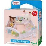 Cheap Dollhouse Accessories Sylvanian Families Let's Play Playpen