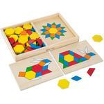 Cheap Wooden Blocks Melissa & Doug Pattern Blocks & Boards Classic