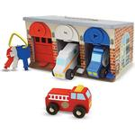 Play Set Melissa & Doug Lock & Roll Rescue Truck Garage