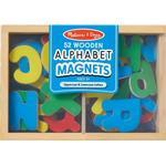 Magnetic Figures Melissa & Doug Wooden Letter Alphabet Magnets