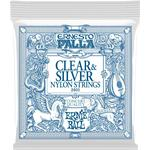Strings Ernie Ball Ernesto Palla Clear & Silver Nylon Classical