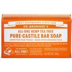 Bar Soap Dr. Bronners Pure Castile Bar Soap Tea Tree 140g