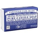 Bar Soap Dr. Bronners Pure Castile Bar Soap Peppermint 140g