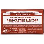 Bar Soap Dr. Bronners Pure Castile Bar Soap Eucalyptus 140g