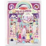 Stickers Stickers price comparison Melissa & Doug Deluxe Puffy Sticker Album Day of Glamour