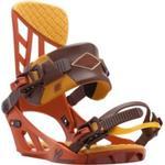 Snowboard Bindings - Orange K2 Formula