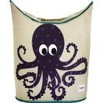 Laundry Baskets Kid's Room 3 Sprouts Octopus Laundry Hamper