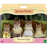 Doll Accessories Sylvanian Families Walnut Squirrel Family